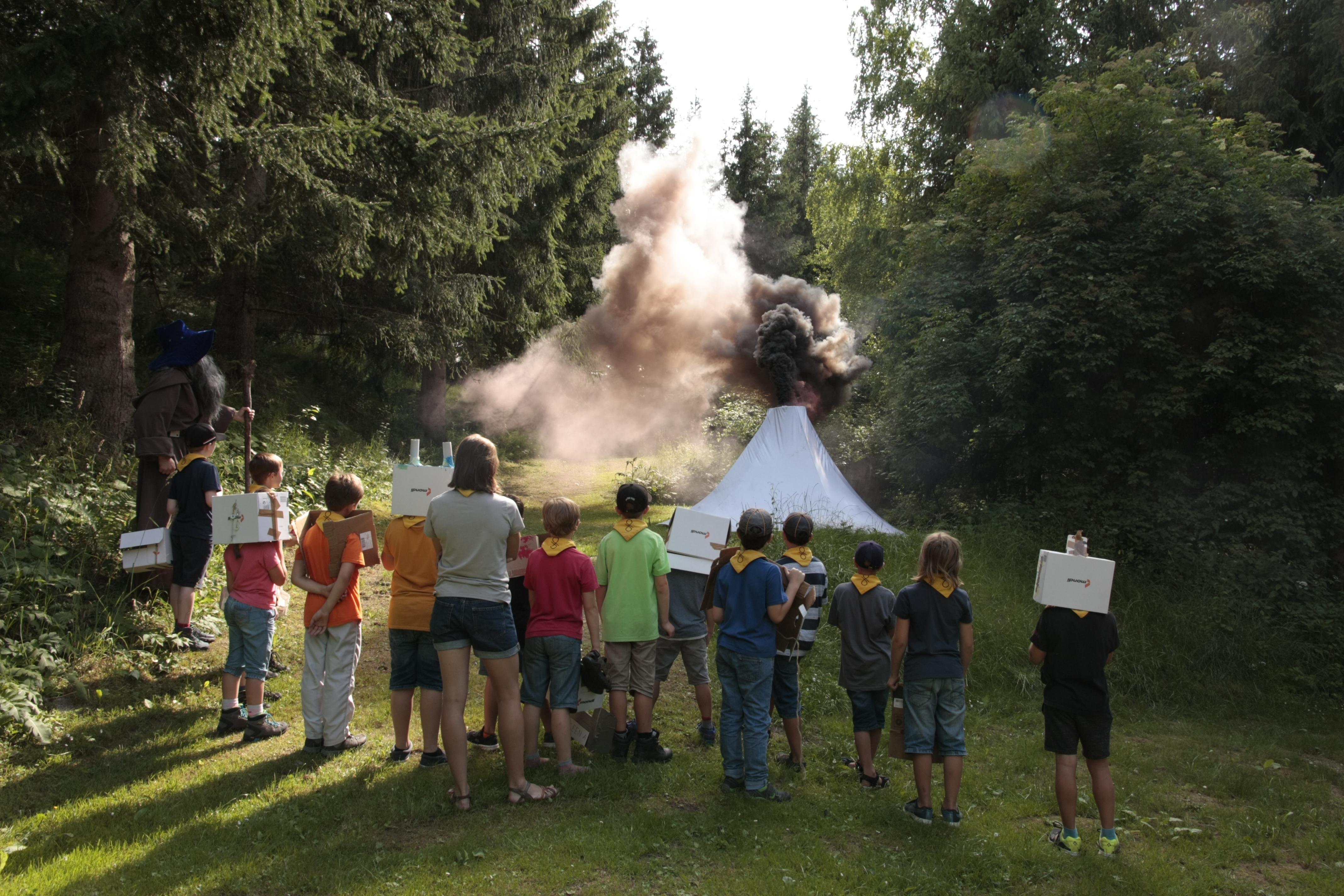 Die WiWö Sommerlager-Fotos sind online!