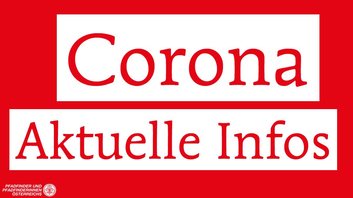 Coronavirus – Updates Pfadijahr 2019/20